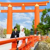 京の歴史を紡ぐ舞台で、日本の美しき結婚式を