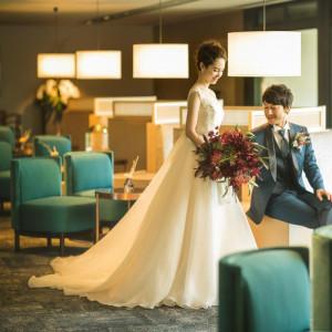 ◆庭園での前撮りプレゼント◆初めての見学に!結婚準備相談会