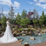 四季折々の美しさを見せる和の日本庭園
