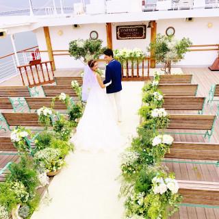 【平日限定】豪華客船クルーズ&ハーフコース無料試食付ウエディングフェア