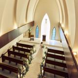 天井高13mの開放感あふれる教会