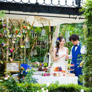 【都心でガーデンWD】緑と花に囲まれたお庭で憧れの1日を叶えるフェア