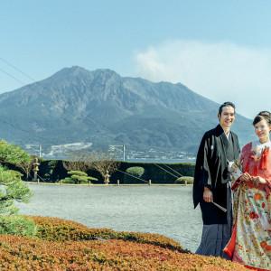 文化財指定庭園 名勝 仙巌園