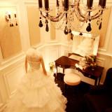 ブライズルームもゆったりと、贅沢な気分を味わえる空間