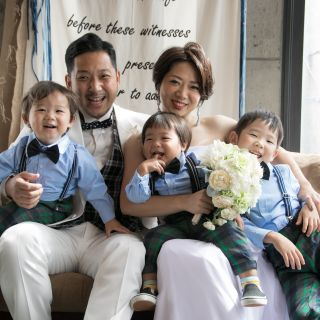◆お子様と一緒にパパママ婚◆ 子供連れも大歓迎♪