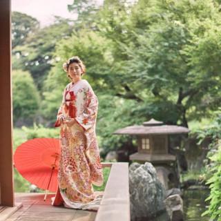 【和婚もおすすめ】和装も洋装も映える庭園×美食のおもてなし