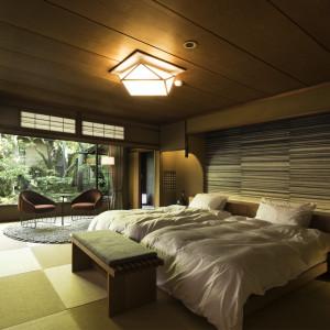 """和を基調としながらも上質で温かみのある""""わずか5室""""だけの特別客室"""