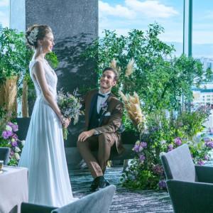 【家族婚◆挙式×会食】絶景のプライベート空間◆少人数W相談会