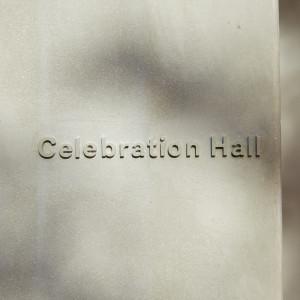 挙式会場は「お祝いの場=Celebration Hall」|IWAI OMOTESANDO(イワイ オモテサンドウ)の写真(4083845)