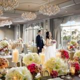 お花のコーディネートで結婚式を華やかに