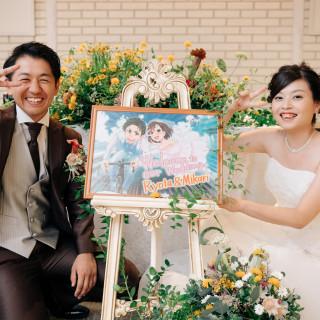 【1組様限定】先輩カップル婚礼直前!会場コーデ見学&豪華試食