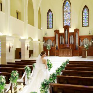 【花嫁必見】大人気!憧れの大聖堂で感動の演出体験&絶品試食会