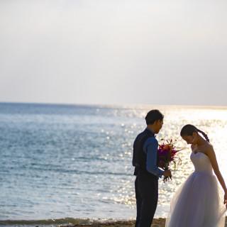 【東日本エリア】10月中に来館&ご成約の方にかりゆしビーチ撮影を¥55,000をプレゼント♪