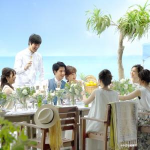 海辺のカフェ ウェディング (H.I.S.)
