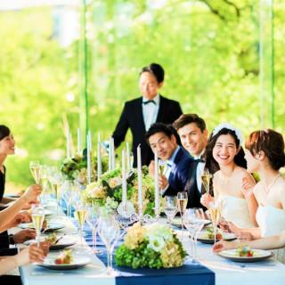 【2名~挙式のみもOK】少人数婚の方へオススメ※ミシュラン試食付相談会