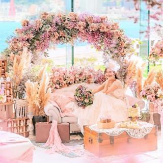 花嫁体験【月曜までの予約限定】憧れドレス×チャペル入場×2万円豪華美食