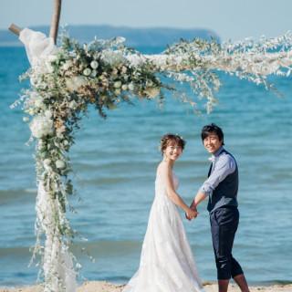 【婚礼料理全品試食×ブーケ作り付】海のBig Bridal Fair