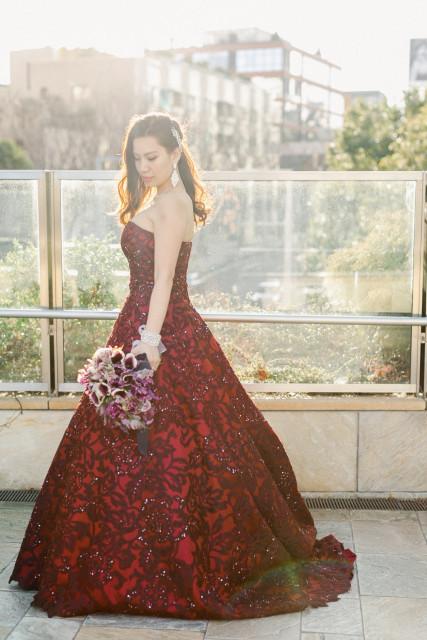 lisaさんのカラードレスの写真
