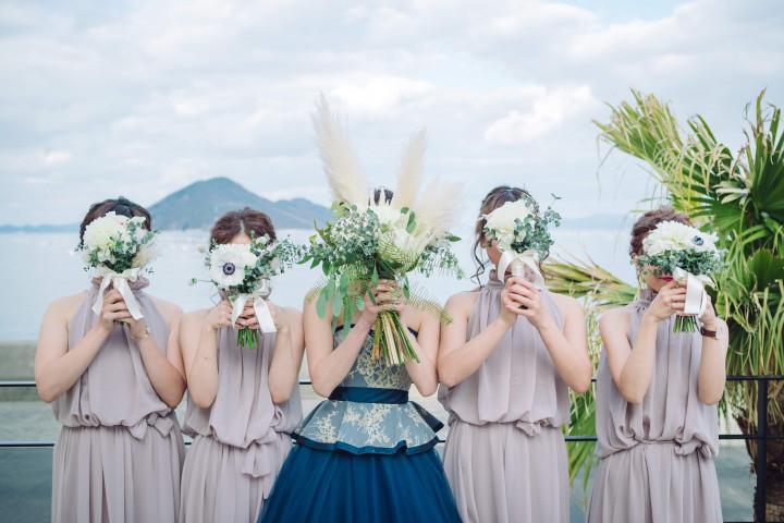 Sunnyday Wedding☆ ゲストと家族からたくさん愛をもらった最高の一日