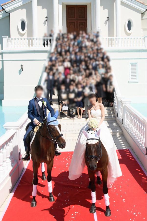 夢のhorse wedding!