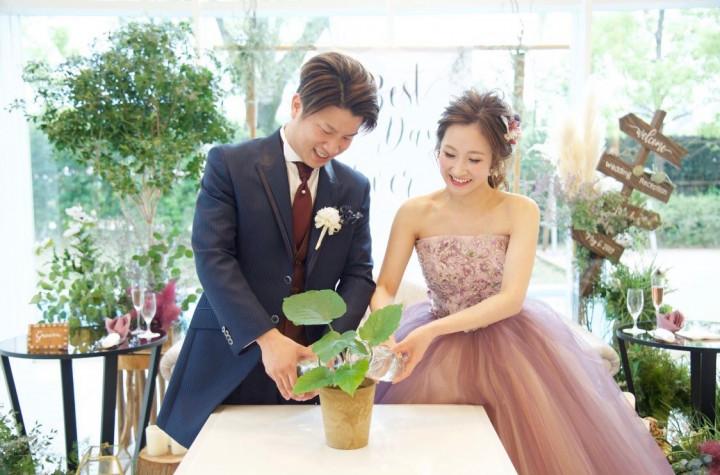 DIY大好き花嫁の手作りナチュラルウェディング
