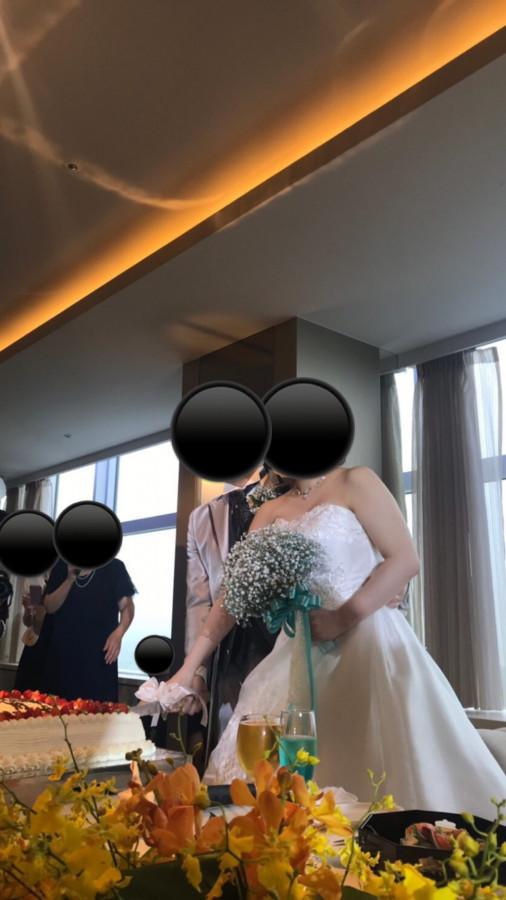 いい結婚式が挙げられました
