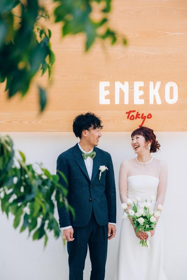 ENEKO Tokyoで挙げるモダンなファミリー婚 Urban×Casual WEDDING-リナさんの挙式・披露宴ハナレポ│ウエディングパークENEKO Tokyoで挙げるモダンなファミリー婚 Urban×Casual WEDDING