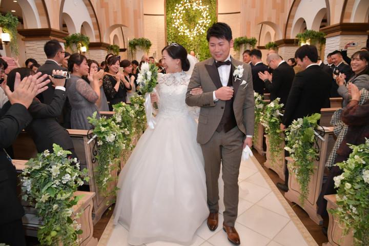 「映画を観ているような結婚式を」大切な人たちに囲まれた幸せな空間