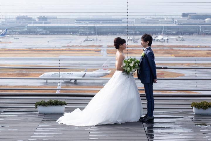 世界の玄関口で行う、新郎新婦もゲストも感動するウェディング