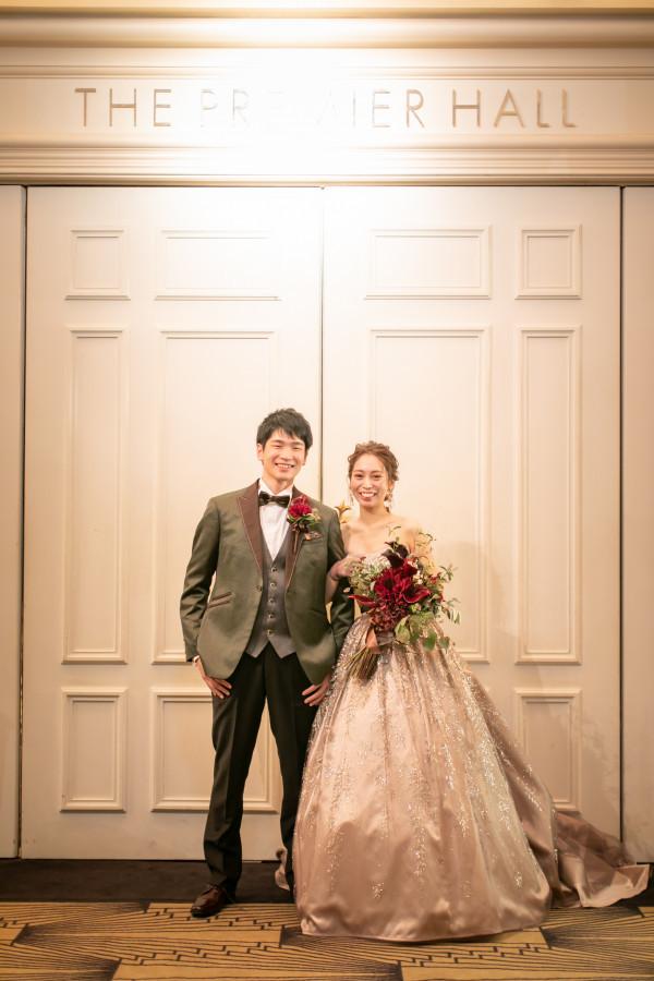 笑顔あふれる結婚式