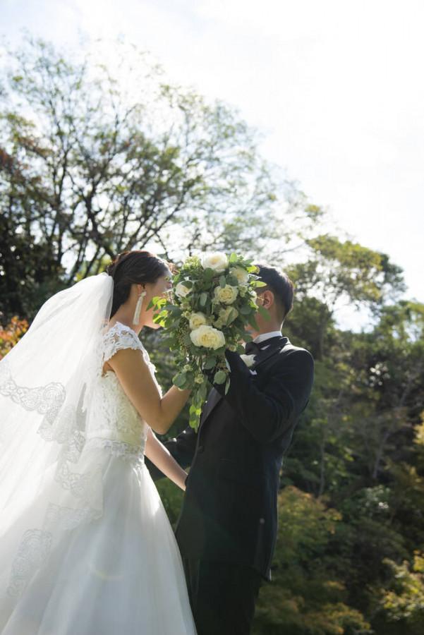 家族と過ごすGarden wedding