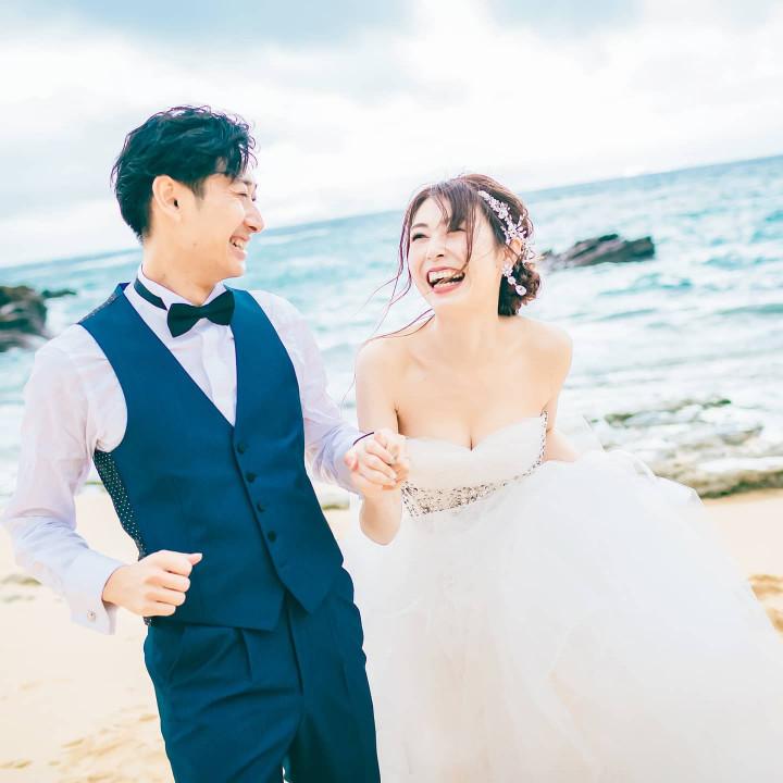 コロナ禍リモート挙式&愛するみんなと行く!沖縄リゾート婚