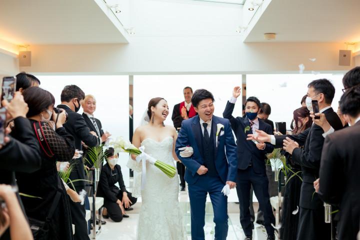 笑顔溢れる結婚式