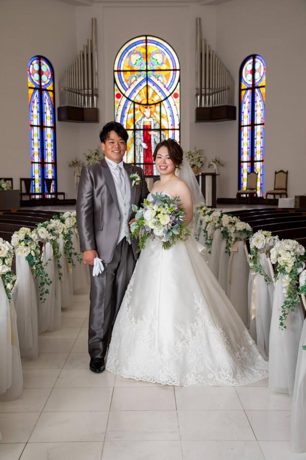 その瞬間、ときめいたモノを 選び尽くすことの出来た結婚式