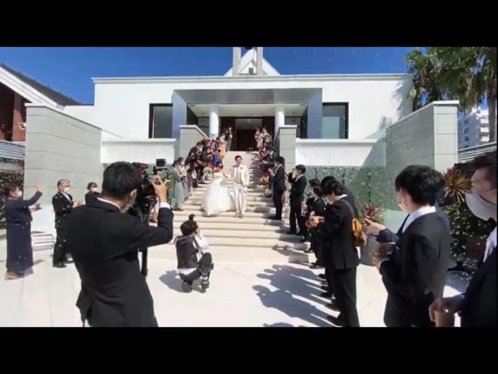 最高の結婚式でした!