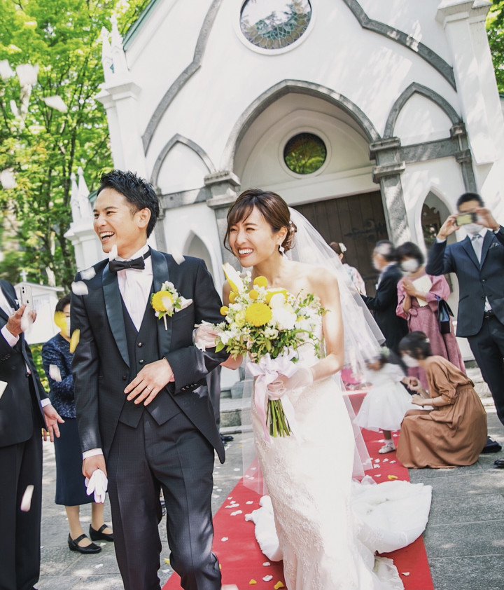 家族へ愛と感謝を伝える結婚式