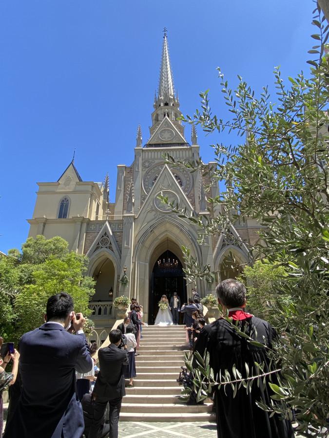コロナ渦の結婚式