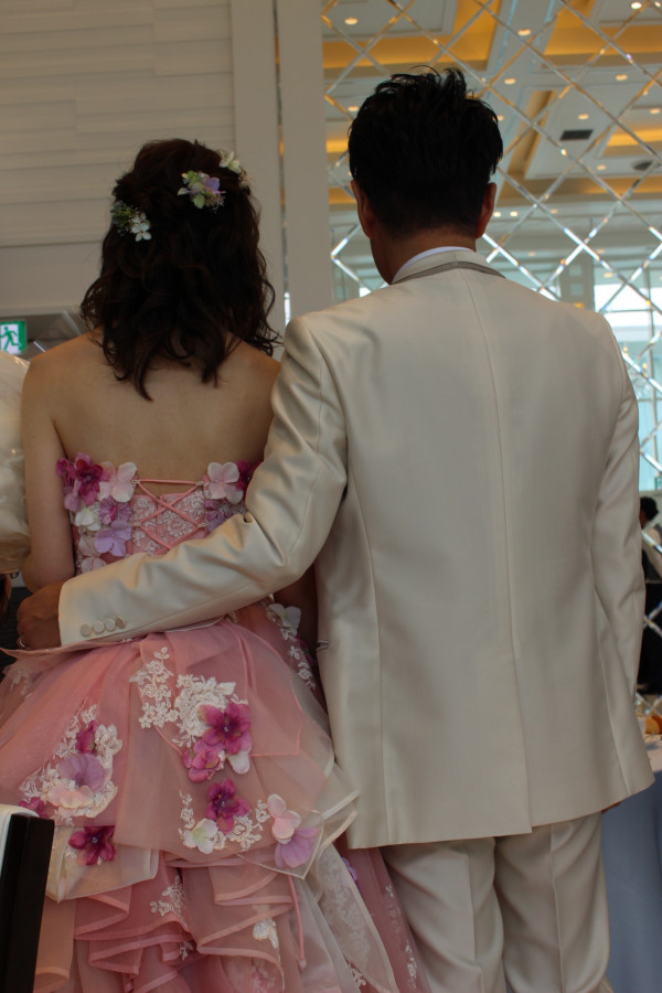 一生の思い出に残る結婚式