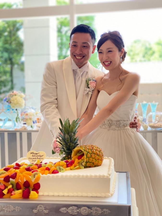 涙と笑顔の結婚式