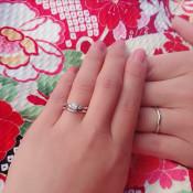 りりさんの結婚指輪の写真
