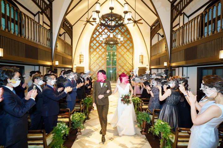 お気に入りの空間で、アットホームな結婚式