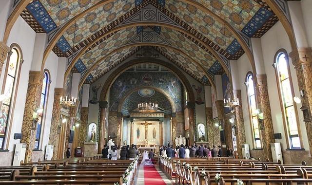 憧れの教会式/カトリック碑文谷教会(サレジオ教会)