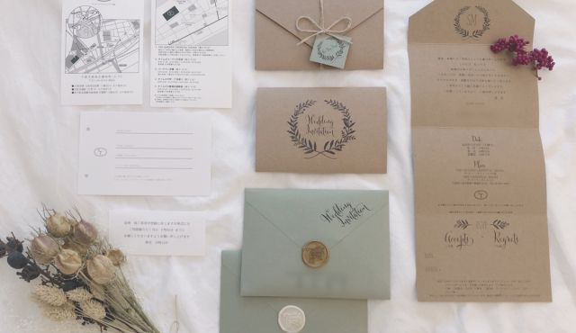 結婚式招待状はいつ送る?招待状準備の手順とマナー【プランナー監修】