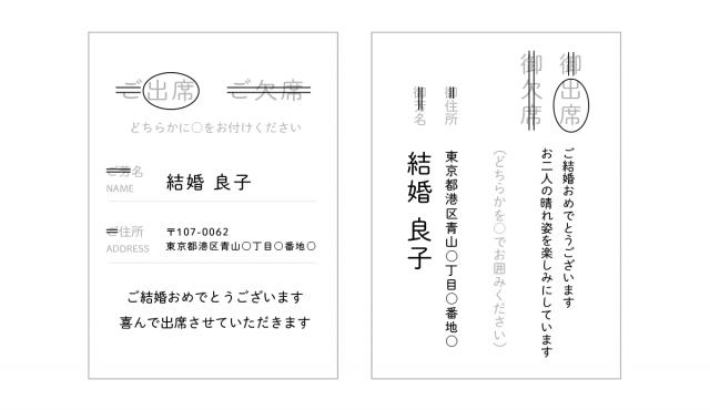 結婚式招待状の返信マナーとメッセージ実例【ゲスト向け】