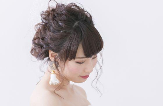 髪型のマナー. 結婚式