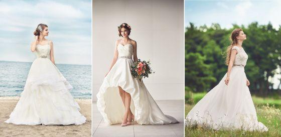 リゾ婚スタイルにあわせて選べる3種類 ワタベウェディングの新ドレス
