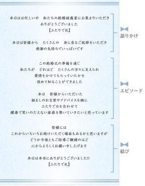 文例たっぷり*新郎の謝辞の書き方【現役プランナー監修