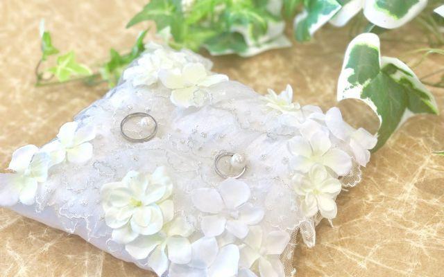 【編集部がやってみた!】「リングピロー」のつくり方とデザインアイデア実例 #花嫁DIY
