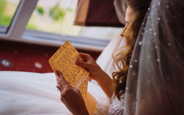 みんなが贈った「結婚式の手紙」文例集*花嫁の手紙【愛情編】