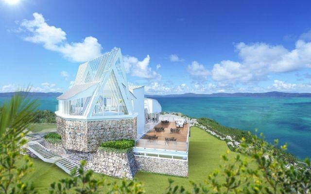 """沖縄にある""""恋の島""""古宇利島に「古宇利島 空と海の教会」2018年春オープン!"""